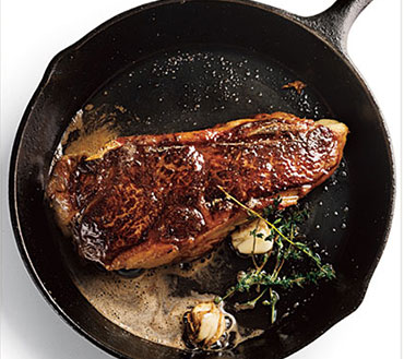 Pan Fried Club steak