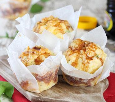 Kaas en Marmitemuffins