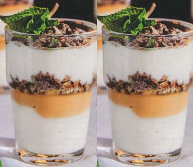 PEPPERMINT CRISP TART GLASSES