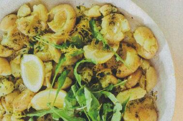 Potato Salad with Lemon and Rocket