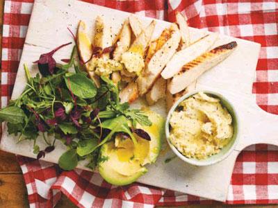 Chicken Fillets with GarliSpread